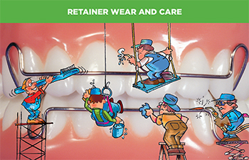 Retainer Wear and Care card(#440-207)