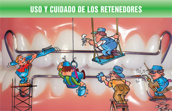 Retainer Wear and Care Spanish card(#440-211)
